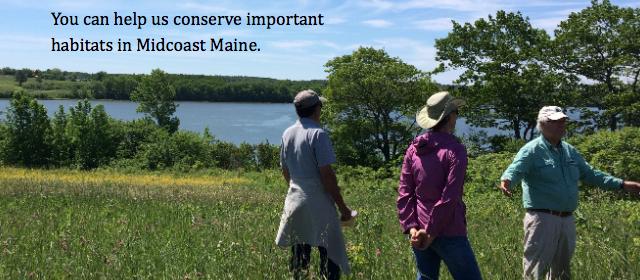 Help conserve important habitats.